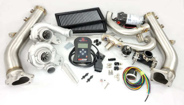 Stage 5 power package for the M157 M278 AMG