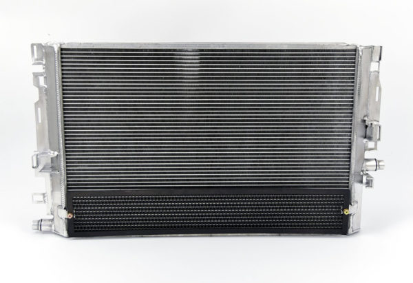 Upgraded front mount heat exchanger for the W205 C63 C63s AMG