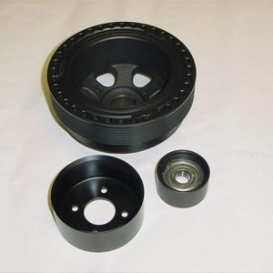 Overdrive crank pulley upgrade for the M112k