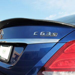 RWCarbon carbon fiber GTX trunk spoiler for the W205 C63 C63s AMG