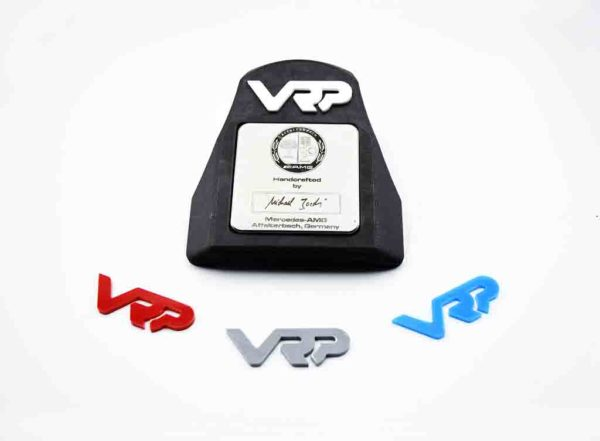 vrp builder plaque coolant cover for the M177 AMG