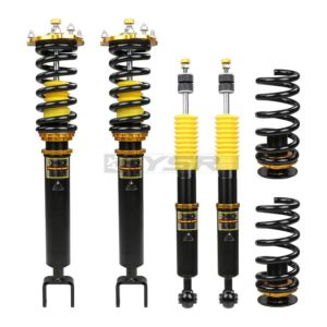 yellow speed coilovers cls55 w219